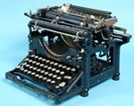 Why the typewriters?