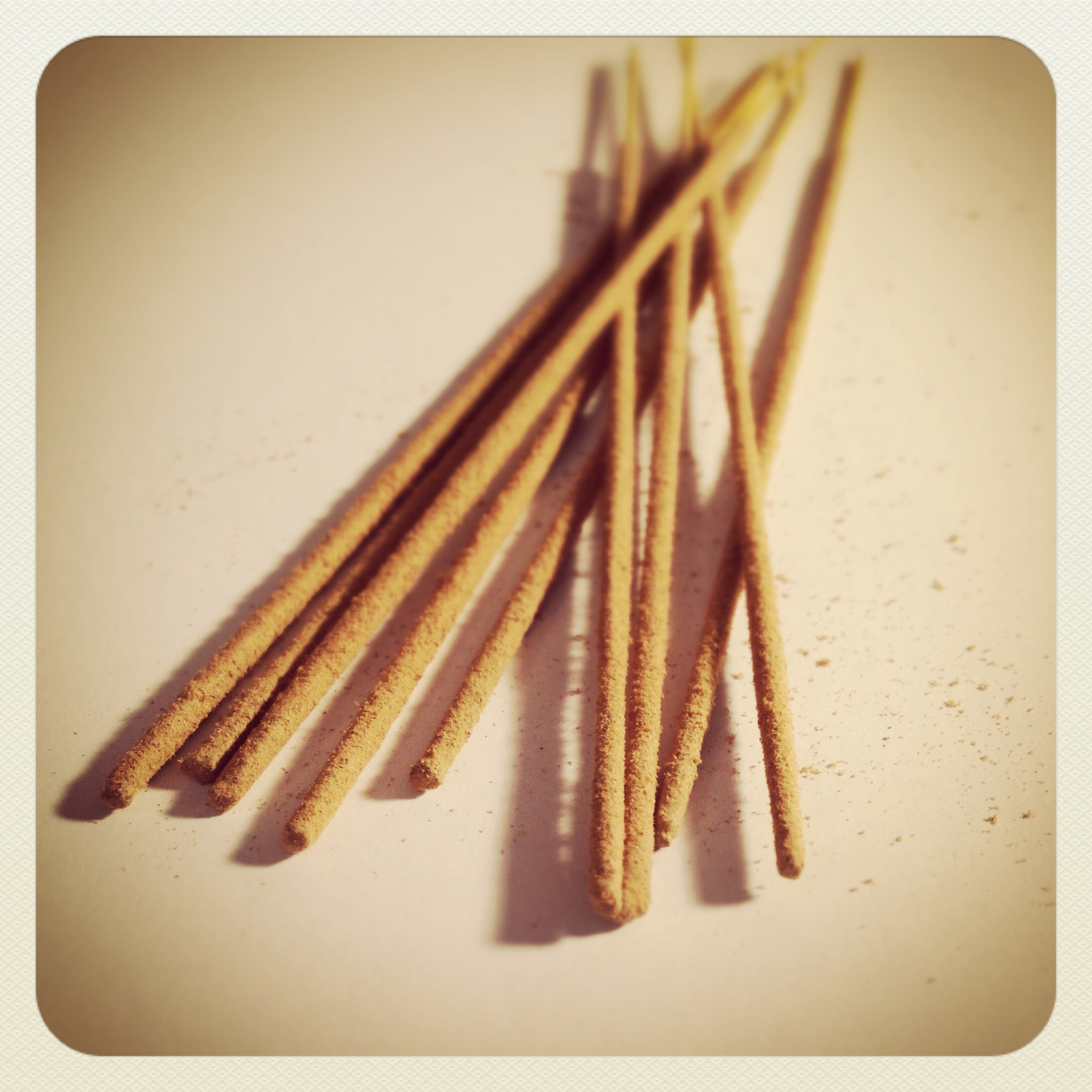 Nag Champa incense - photo by Laurel Regan