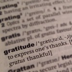 Today's Gratitude List – Linkup No. 1