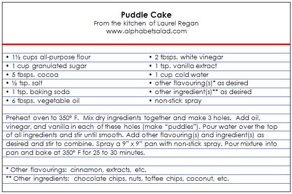 puddlecake