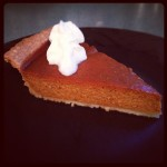Gingerbread Pumpkin Pie, Take Two (or four!)