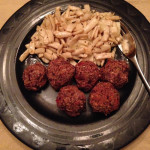 "Meatless Monday No. 6 – Cloudy with a Chance of ""Meatballs"""