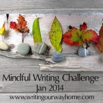 Mindful Writing Challenge January 2014: Small Stones 1-4