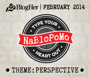 NaBloPoMo February 2014
