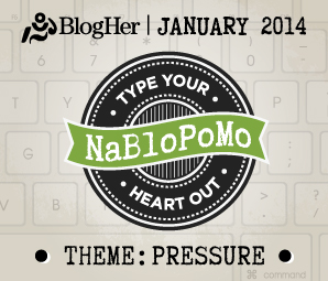 NaBloPoMo January 2014