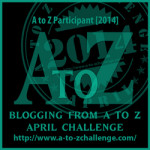 Blogging from A to Z Challenge: On your mark, get set…