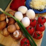 Meatless Monday No. 14 – Veggie Frittata (sort of)