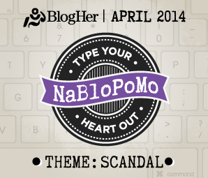 NaBloPoMo April 2014