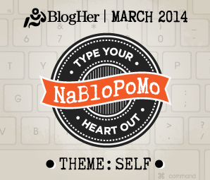 NaBloPoMo March 2014