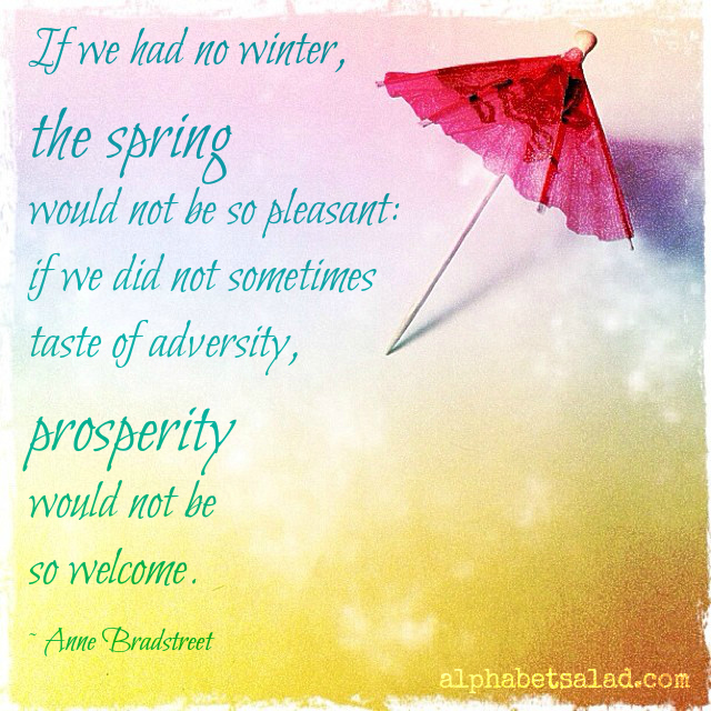 Quote - Anne Bradstreet