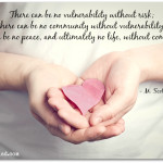 (Almost) Wordless Wednesday – On Vulnerability & Community