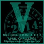 Blogging from A to Z Challenge – V is for…