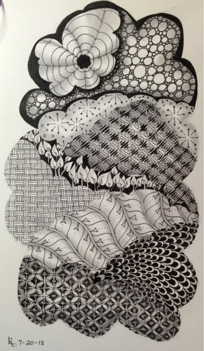 Zentangle®-Inspired Art