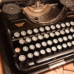 So, why the typewriters?