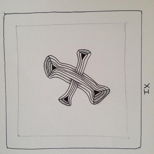 Tangle - IX