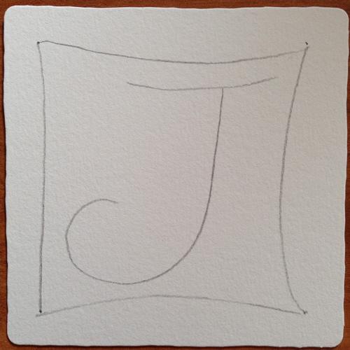 Tangle String - J