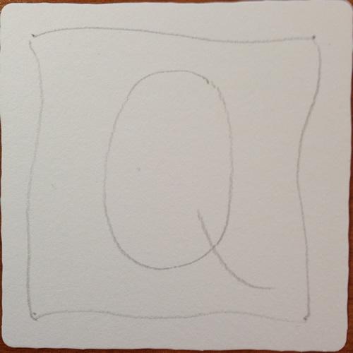 Tangle String - Q