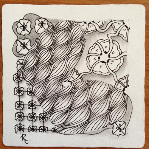 Tangle Tile - B