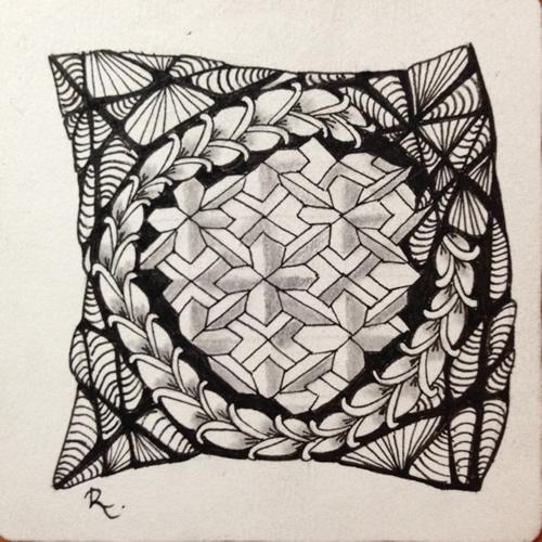 Tangle Tile - C