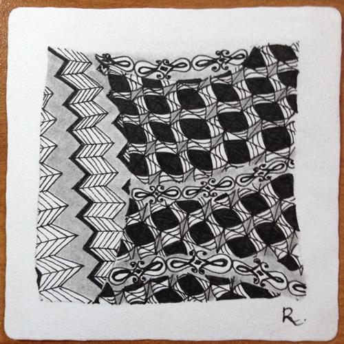 Tangle Tile - E
