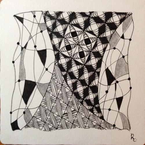 Tangle Tile - N