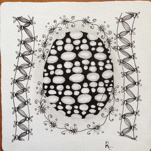 Tangle Tile - O