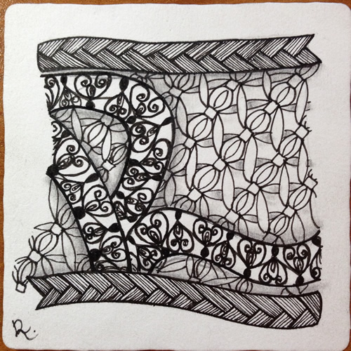 how to make zentangle tiles