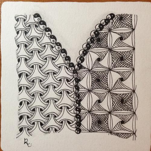 Tangle Tile - Y