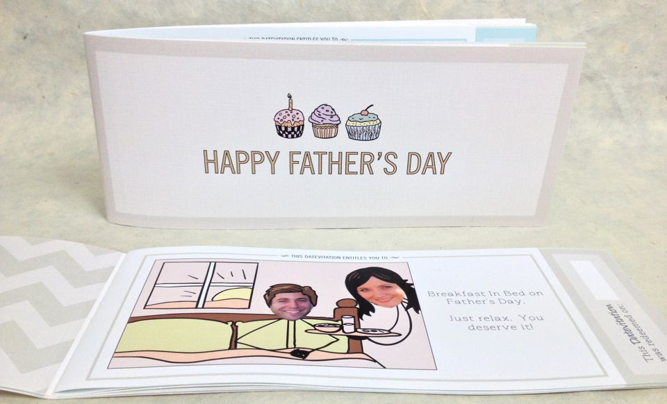 Datevitation Father's Day Book