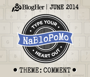 NaBloPoMo June 2014