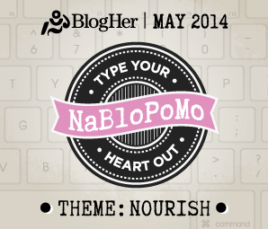 NaBloPoMo May 2014