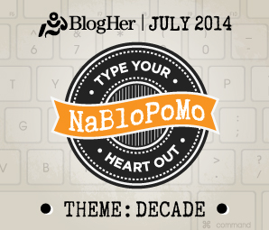 NaBloPoMo July 2014