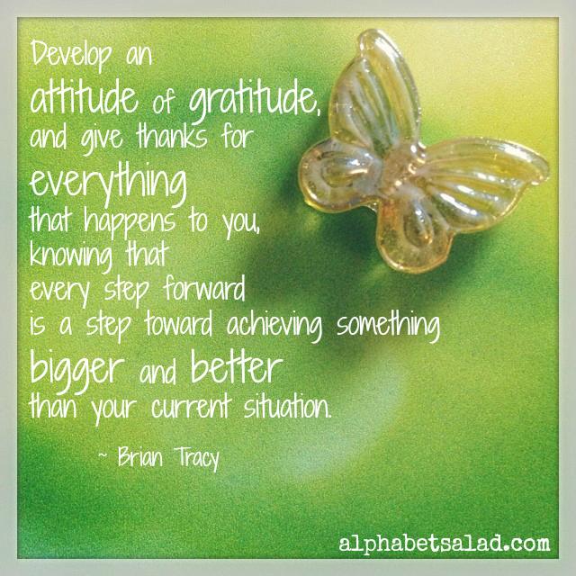 Gratitude - Brian Tracy
