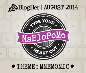 NaBloPoMo August 2014