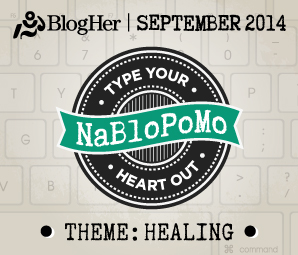 NaBloPoMo September 2014