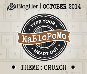 NaBloPoMo October 2014