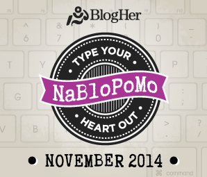 NaBloPoMo November 2014