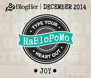 NaBloPoMo December 2014