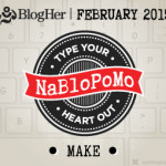 NaBloPoMo February 2015