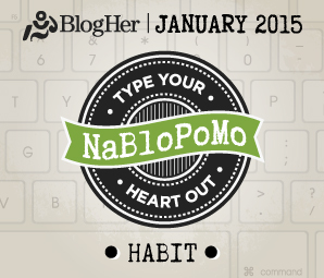 NaBloPoMo January 2015