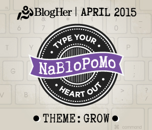 NaBloPoMo April 2015