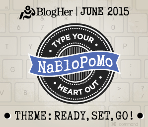 NaBloPoMo May 2015