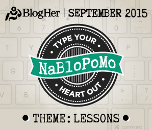 NaBloPoMo September 2015