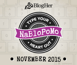 NaBloPoMo November 2015