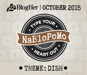 NaBloPoMo October 2015