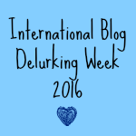 International Blog Delurking Week 2016