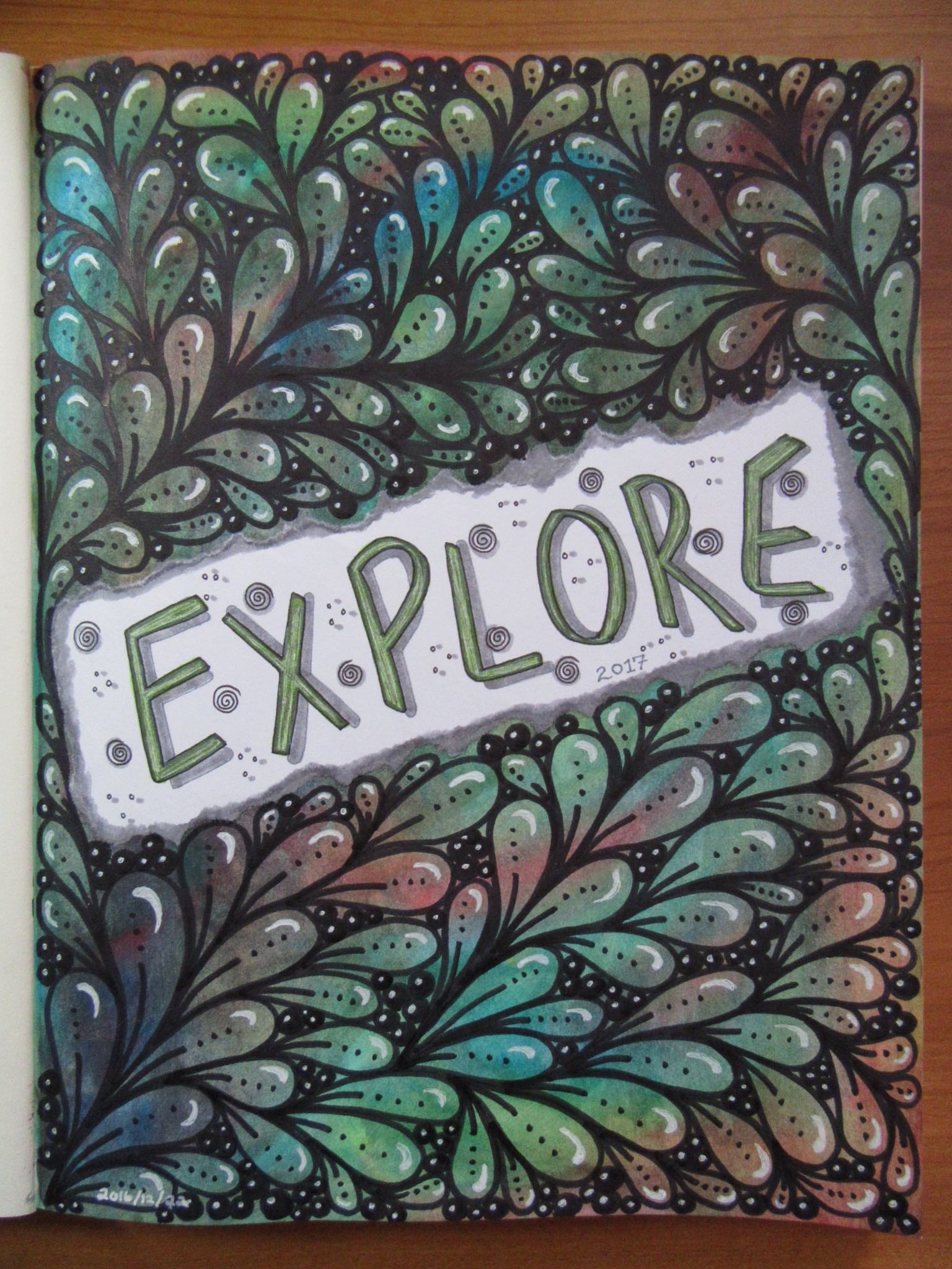 My 2017 Word of the Year - Explore
